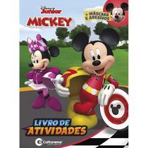 Livro Infantil Colorir Mickey Diversao C/ADESIVOS - Planeta Criança