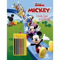 Livro Infantil Colorir Mickey LER e Colorir C/LAPIS - Culturama