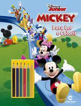 Livro Infantil Colorir Mickey LER e Colorir C/LAPIS - Emporio Santa Terezinha