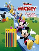 Livro Infantil Colorir Mickey LER e Colorir C/LAPIS - Planeta Criança