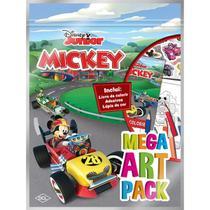 Livro Infantil Colorir Mickey Mega ART PACK - Dcl -
