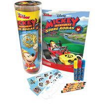 Livro Infantil Colorir Mickey Tubo C/ADES/GIZES/CANET - Planeta Criança -
