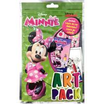Livro Infantil Colorir Minnie ART PACK C/ ADES/LAPIS - Dcl