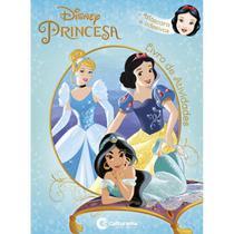 Livro Infantil Colorir Princesas Diversao C/ADESIVOS - Culturama