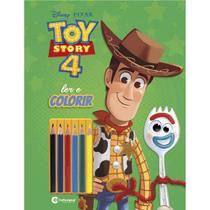 Livro Infantil Colorir TOY STORY LER e Colorir C/LAPI - Culturama