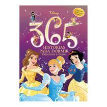 Livro Infantil - Disney - 365 Histórias para Dormir - Princesas - Brilha no Escuro - DCL Editora -