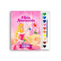 Livro Infantil Para Colorir - A Bela Adormecida - Dcl