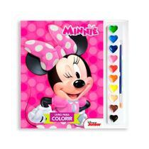 Livro Infantil Para Colorir - Minnie - Dcl