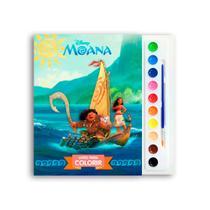 Livro Infantil Para Colorir - Moana - Dcl -