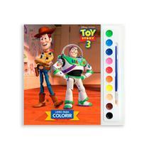 Livro Infantil Para Colorir - Toy Story 3 - Dcl