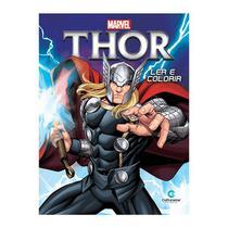 Livro Infantil Thor Ler e Colorir Culturama -
