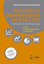 Livro - Iniciação à Contabilidade IFRS e CPC - Facilitada e Sistematizada -