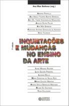 Livro - Inquietações e mudanças no ensino da arte -