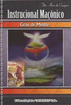 Livro Instrucional Maçônico - Grau Mestre - Confraria Dos Bodes