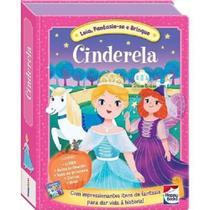 Livro Interativo Leia Fantasie -se e Brinque Happy Books Cinderela -