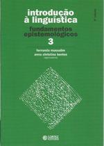 Livro - Introdução à Linguística - Volume 3 -