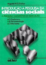 Livro - Introdução À Pesquisa Em Ciências Sociais -