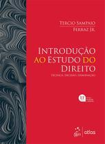Livro - Introdução ao Estudo do Direito - Técnica, Decisão, Dominação -