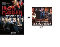 Livro Iron Maiden Monstros do Rock + CD Ed. 1 - Abril