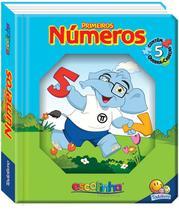 Livro - Janelinha lenticular escolinha todolivro com quebra-cabeças: Números -