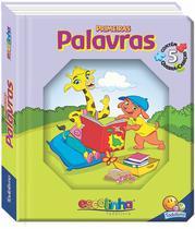 Livro - Janelinha lenticular escolinha todolivro com quebra-cabeças: Palavras -