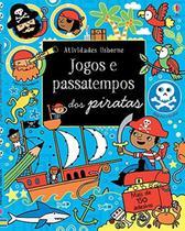 Livro - Jogos e passatempos dos piratas -