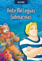 Livro - Júlio Verne: Vinte mil léguas submarinas -