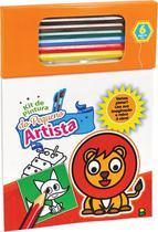 Livro - Kit de Pintura do Pequeno Artista: Laranja -