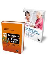 Livro - Kit Diagnósticos de Enfermagem da NANDA-I + Anamnese e Exame Físico -