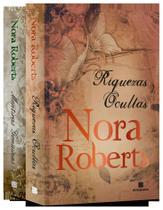 Livro - Kit Nora Roberts: Mentiras genuínas + Riquezas ocultas -