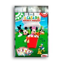 Livro Kit Pinte e Brinque A Casa Do Mickey Mouse DCL -