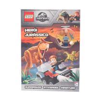 Livro - Lego Jurassic World: Héroi jurássico -