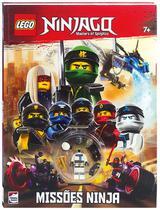 Livro - Lego Ninjago Mestres do Spinjitzu: Missões Ninja -