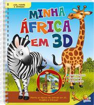 Livro - Leia, monte e brinque! Minha África em 3D -