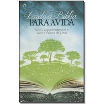 Livro - Lendo A Biblia Para A Vida - Cpad