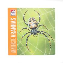 Livro - Lenticular 3D - Animais perigosos: Aventuras de aranhas -