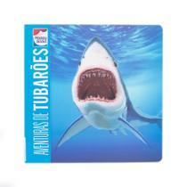 Livro - Lenticular 3D - Animais perigosos: Aventuras de tubarões -