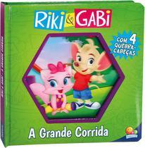 Livro - Lenticular 3D licenciados: Riki & Gabi - a grande corrida -