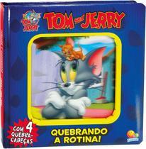 Livro - Lenticular 3D licenciados: Tom and Jerry - quebrando a rotina -