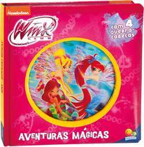 Livro - Lenticular 3D licenciados: Winx Club - aventuras mágicas -