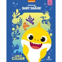 Livro - LER E COLORIR BABY SHARK -