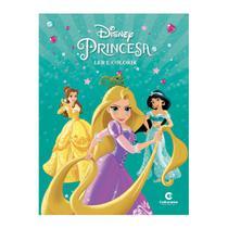 Livro Ler e Colorir Disney Princesa - Culturama -