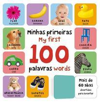 Livro - Levante a aba - Minhas primeiras 100 palavras em inglês -