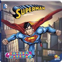 Livro - Licenciados com quebra-cabeças: Superman -