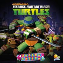 Livro - Licenciados com quebra-cabeças: teenage mutant Ninja Turtles -