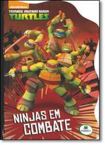 Livro - Licenciados recortados(BRC): Ninja Turtles. Ninjas em combate -