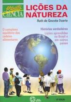Livro - Lições da natureza -