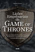 Livro - Lições empresariais de Game of Thrones -