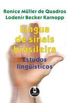 Livro - Língua de Sinais Brasileira -