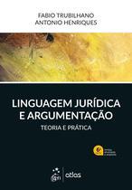 Livro - Linguagem Jurídica e Argumentação -